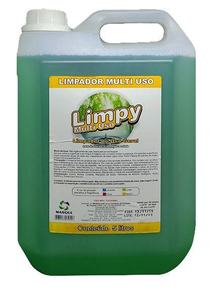 Limpador Multiuso Limpy Limão 5L