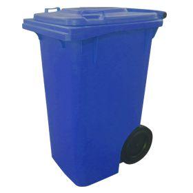 Lixeira Container para Lixo com Rodas 240L