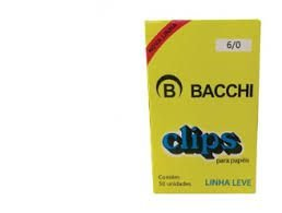 Clipes Galvanizados 6/0 c/ 50