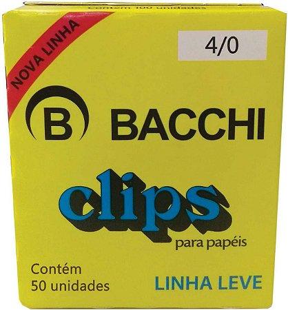 Clipes Galvanizados 4/0 c/ 50un