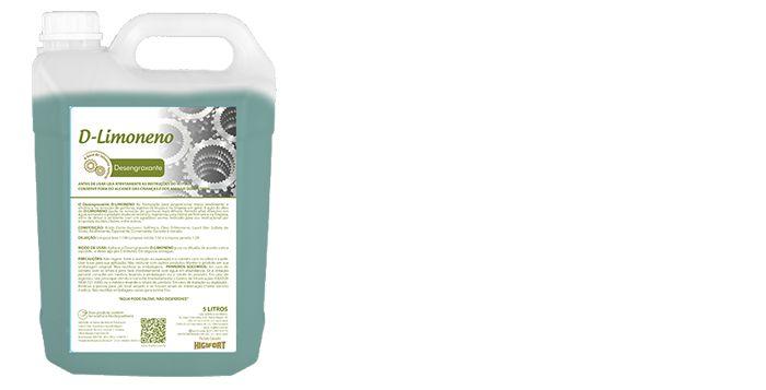 Detergente Desengraxante D-Limoneno 1:100 5L