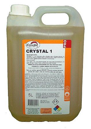 Crystal Limpeza Pesada Desengraxante para Fornos e Pisos 1 1:10 5L