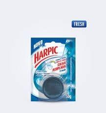 Tablete Sanitário p/ caixa Acoplada Harpic 50G