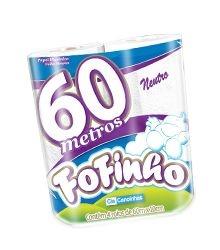 Papel Higiênico Fofinho Folha Simples 4x60m Ref.: 1301