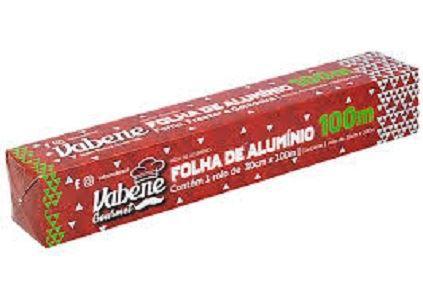Papel Alumínio Vabene 30cm x 100m