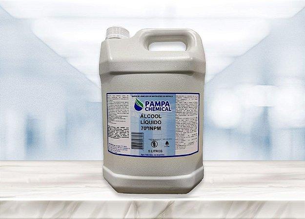Álcool Líquido Pampa Chemical 70º 5L