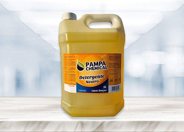 Detergente Louça Neutro Pampa Chemical 5L