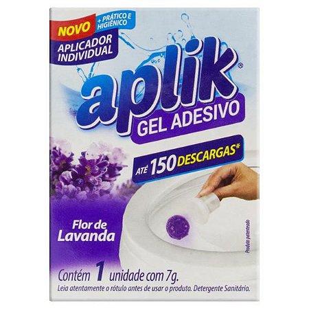Gel Adesivo Sanitário Unitário APLIK Lavanda 7g