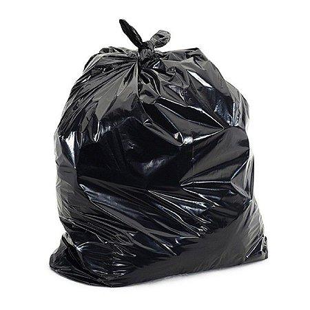 Saco para Lixo Preto 130L c/100 Super Reforçado