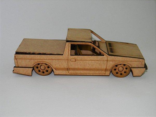 Miniatura Saveiro em MDF - Roda Pingo/Gota