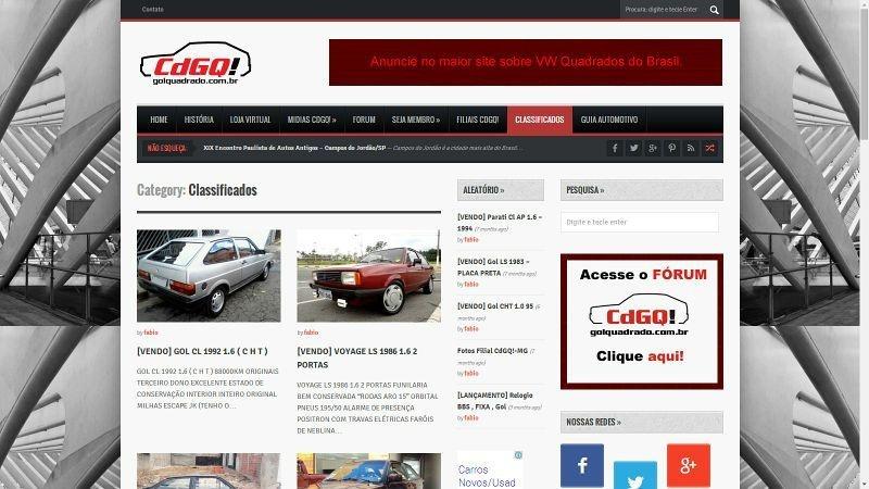 Anúncios VW Quadrados