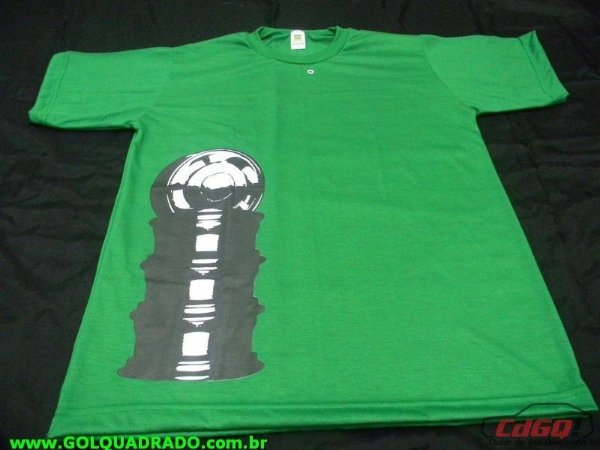 Camiseta Roda Orbital Verde