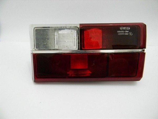 Lanterna Gol Ate 1986 Rubi Vermelha Ré Branca Friso Cromado Direita ORIGINAL VW