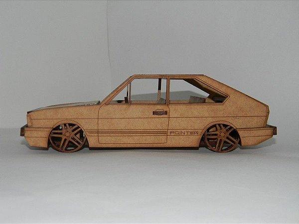 Miniatura VW Passat Pointer em MDF