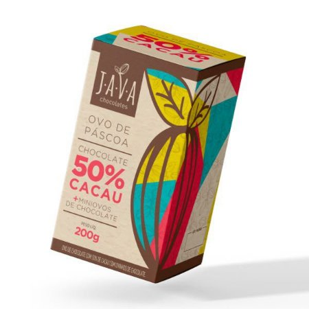 OVO DE PASCOA 50% CACAU KIDS 200 G