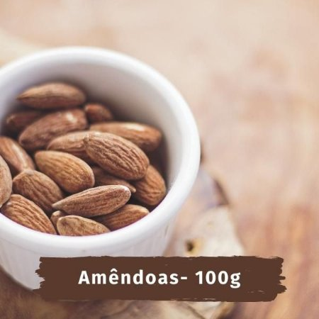 EMPORIO AMENDOA Sem casca - 100 g
