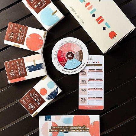 Degustação de chocolate - Kit Reserva Especial - Grand Cru