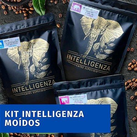 Kit 3 cafés Intelligenza - MOÍDO 3 pacotes
