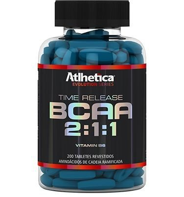 BCAA TIME RELEASE 2:1:1 - 200 TABS