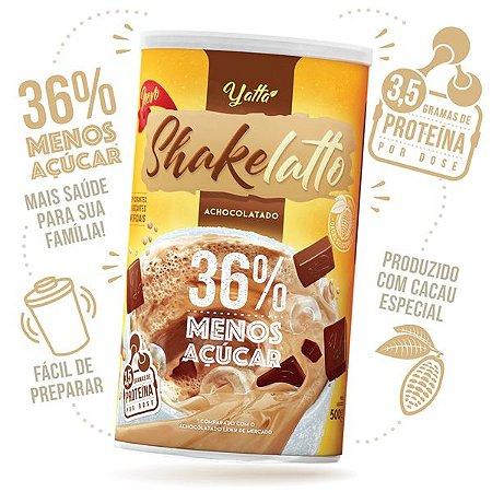 Achocolatado Shakelatto 36% menos açúcar* 500g