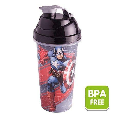 Coqueteleira Capitão América 580 ml