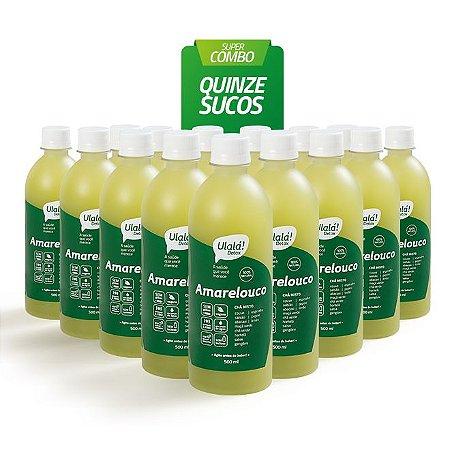 Super Combo 15 sucos - Amarelouco