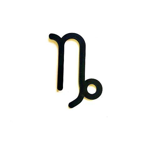 Quadro lettering acrílico Signo Capricórnio