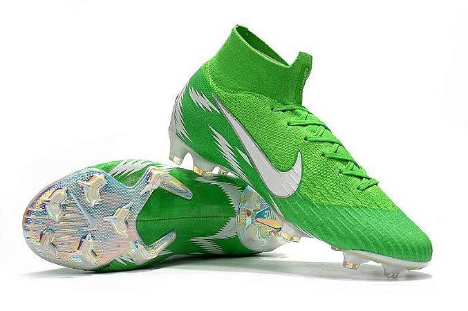 Chuteira Nike Mercurial Superfly VI 360 Elite FG (Cano Alto)