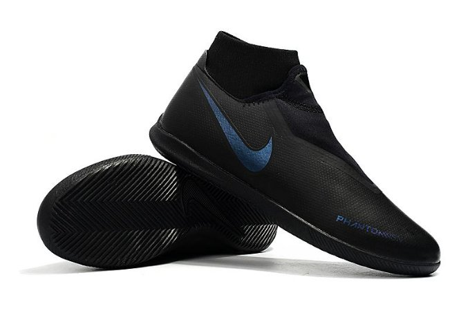 16b3b35e86d48 Chuteira Nike Phantom Vision Elite Classic Futsal Black (Cano Alto ...
