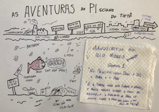 As Aventuras de Pisciano do Tietê - Manuscritos do Rio Morto