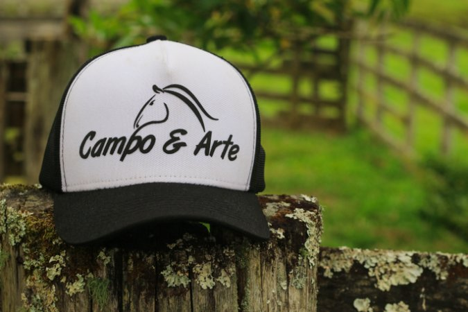 Boné Logo - Trucker - Campo & Arte