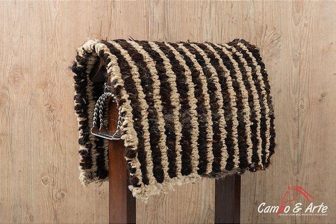 Baxeiro Lã Trançada Grosso