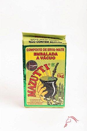 Chimarrão Erva Mate Mazutti Composta - 1kg