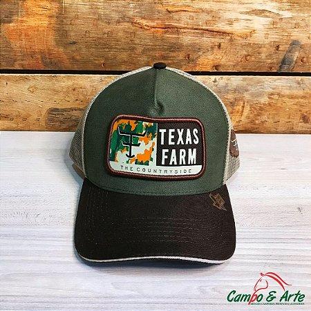 Boné Texas Green - Texas Farm