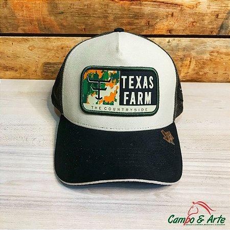 Boné White Side - Texas Farm