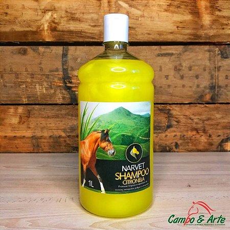 Shampoo Citronela p/ Cavalo - 1L
