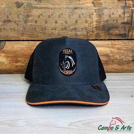 Boné Horse Cinza - Texas Farm