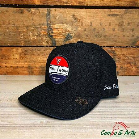 Boné Black Urban - Texas Farm
