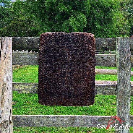 Pelego Duplo Classe A Lã Socada 97x65cm