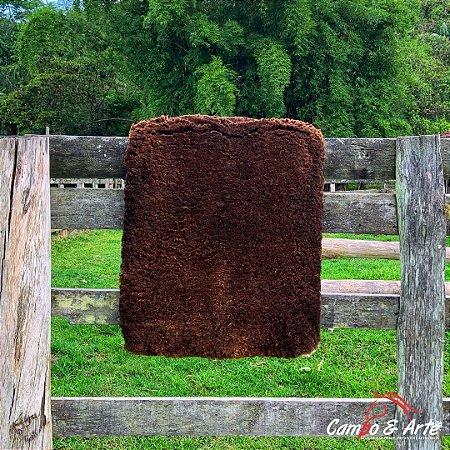 Pelego Duplo Classe A Lã Socada 101x69cm