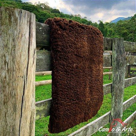 Pelego Duplo Classe A Lã Socada 99x69cm
