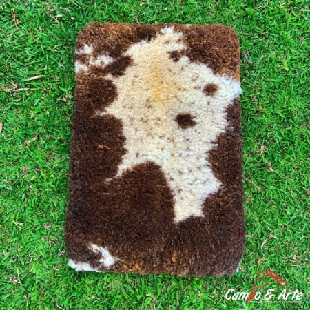 Pelego Duplo Classe A Lã Socada 103x72cm