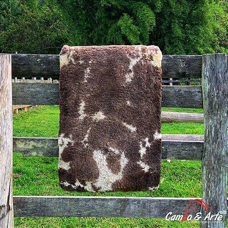 Pelego Duplo Classe A Lã Socada 101x66cm