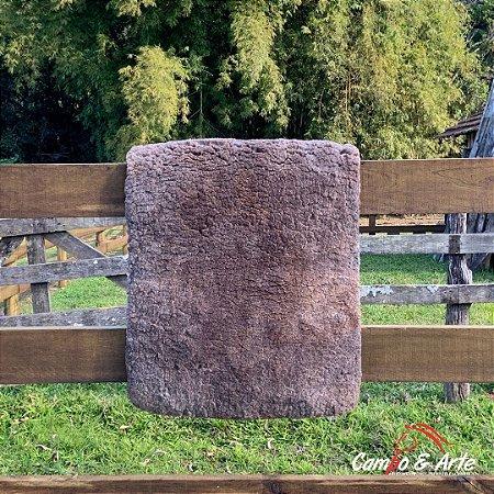 Pelego Mouro Lã Socada Forrado - 60x90cm