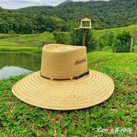 Chapéu Palha Campeiro 30X II - Karandá