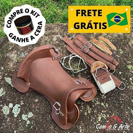 Kit Sela Freio de Ouro Anatômica - Graxo c/ Gato