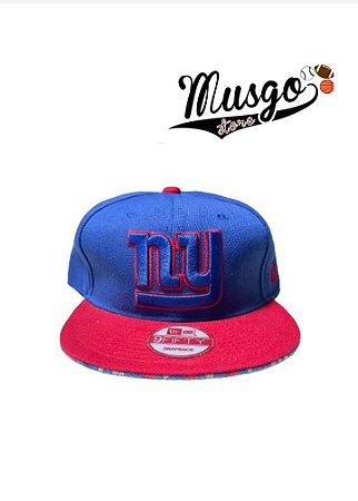 Boné snapBack Esporte Futebol Americano NFL New York Giants Azul