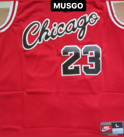 Camiseta Regata Nike Esporte Basquete Chicago Michael Jordan 1984 Vermelha