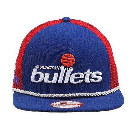Snapback New Era NBA Washington Bullets