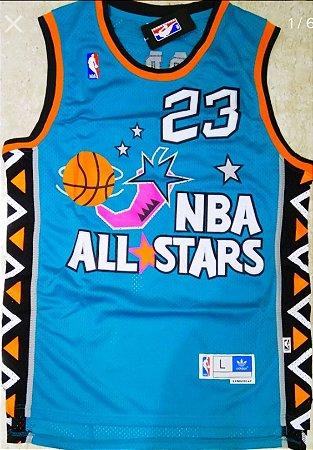 Camiseta Esportiva Regata Basquete NBA Swingman All Star Game 1996 Michael Jordan Numero 23